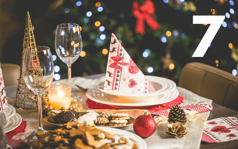 The 12 Ways Of Christmas – #7 – Spending Your Calories Wisely