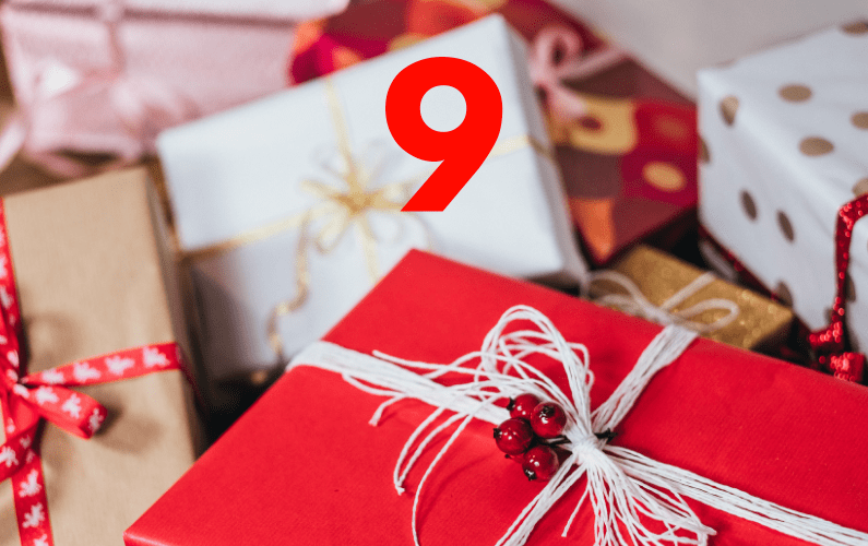 The 12 Ways Of Christmas – #9 – It's Far Better To Give Than To Receive